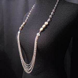 LOFT Multi-strand Gold/Silver necklace